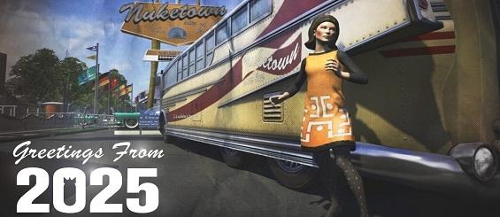 Видео бонусной карты Nuketown 2025 из Call of Duty: Black Ops II