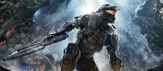 Halo 4 - демонстрация карты Longbow