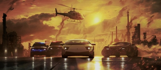 Need for Speed: Most Wanted - запись трансляции игрового процесса от Machinima