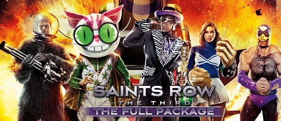Саша Грей представляет Saints Row: The Third - The Full Package