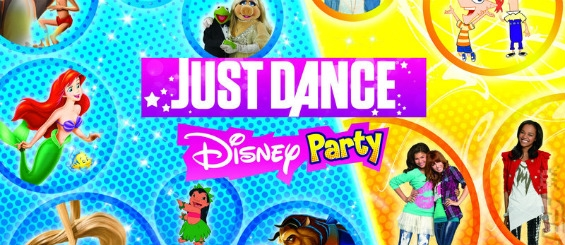 Disney и команда JD представляют Just Dance: Disney Party